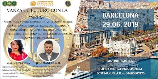 Te invitamos a nuestro evento de SWIG  en BARCELONA.