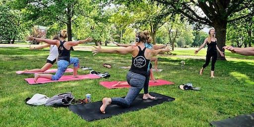 Better Buzz Yoga at SUNI Jazz in Chaffee Park