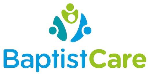 BaptistCare Pastoral Care Volunteer Training 2019 - Newcastle