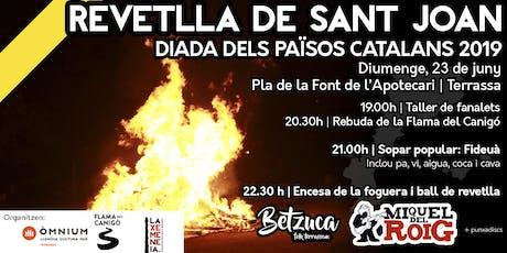 REVETLLA POPULAR DE SANT JOAN 2019 entradas