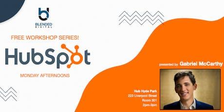 2nd Hubspot for Business Workshop - hosted by Blended Digital tickets