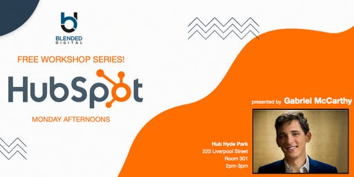 3rd Hubspot for Business Workshop - hosted by Blended Digital