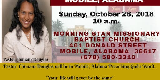 THERE IS MORE TOUR  CHIMAIN DOUGLAS MINISTRIES