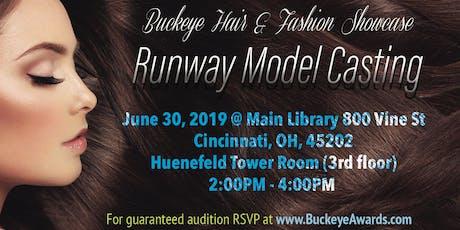 Buckeye Model Runway Casting Call tickets