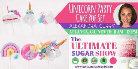 Unicorn Party Cake Pops with Poppy Paint tickets