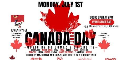 Majic Productions #TheMajicHour CANADA DAY PARTY tickets
