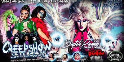 Creepshow Saturday ft Biqtch Puddin