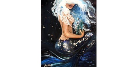 SILVER MERMAID sip and paint class tickets