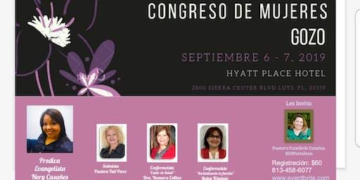 """Congreso De Mujeres """"Gozo"""""""