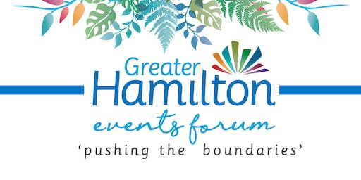 Greater Hamilton Events Forum 2019