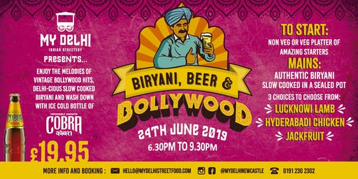 Biryani, Beer and Bollywood