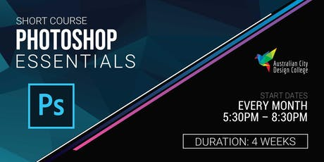Adobe Photoshop Essentials Course tickets