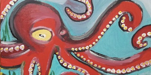 Copy of Painting and Pints - Octopus