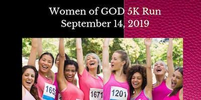 WOMEN OF GOD  5K RUN