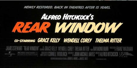 Summer Outdoor Movie Night: Rear Window tickets