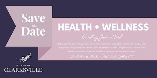 Women of Clarksville- 2nd Health and Wellness Event