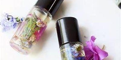 Oil Perfume Making Workshop!