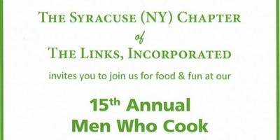 15th Annual Men Who Cook & Wine Tasting Fundraiser