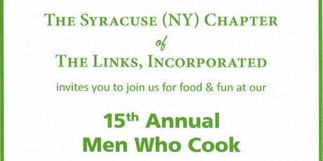 15th Annual Men Who Cook & Wine Tasting Fundraiser tickets