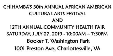 Chihamba presents 30th Annual African Cultural Arts Festival & Community Health Fair