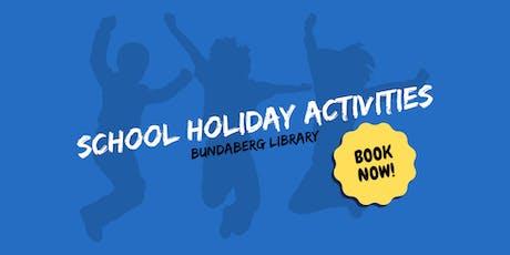 Cardboard Boomerang - School Holiday Activity - Bundaberg Library tickets
