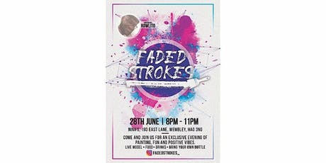 Faded Strokes Paint Party tickets