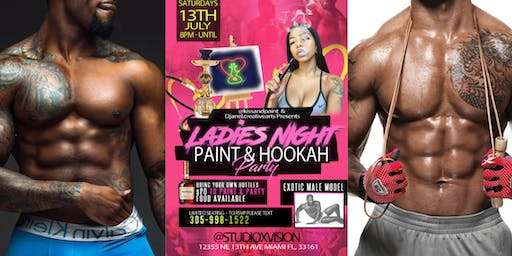 Paint and Hookah - Ladies Night Party