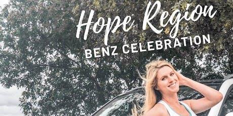 Hope Region Benz Celebration - Holly Wells tickets