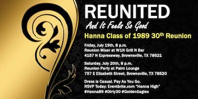 Hanna High Class of 1989 Reunion