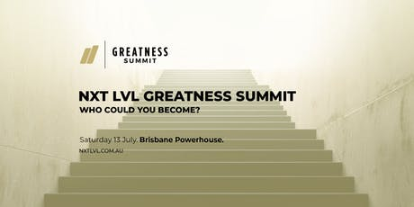 The Greatness Summit  tickets