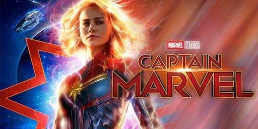 Summer Outdoor Movie Night: Captain Marvel