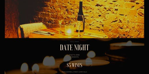 Date Night Beneath Surry Hills