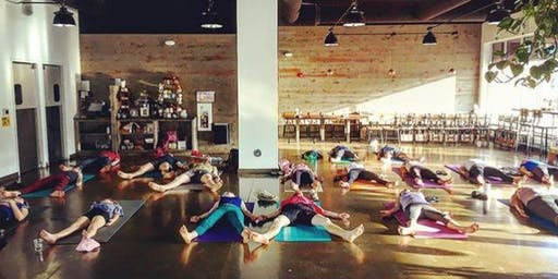 Yoga and Brews at the Bee
