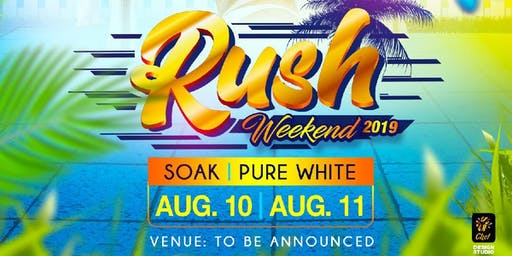 Rush Weekend : Ultimate Day Rave