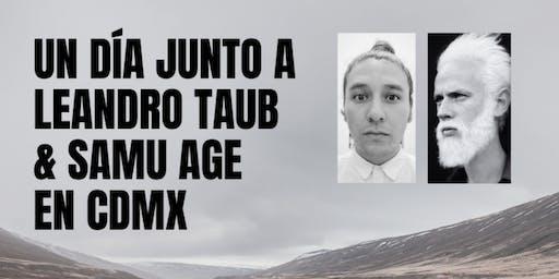 Leandro Taub y Samu Age en CDMX: Domingo 14 de Julio
