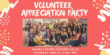 Volunteer Appreciation Party 2019 tickets