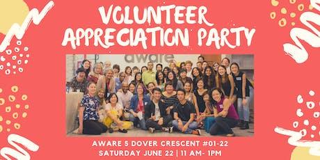Volunteer Appreciation Party 2019 tickets