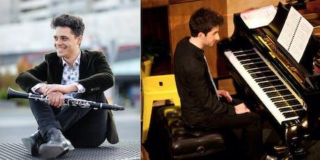 Liquid Crystal - Luke Carbon (clarinet) and Alex Raineri (piano) tickets
