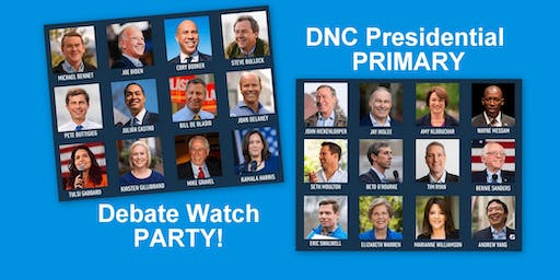 DNC Presidential Debate Watch Party: Mega Manhattan!