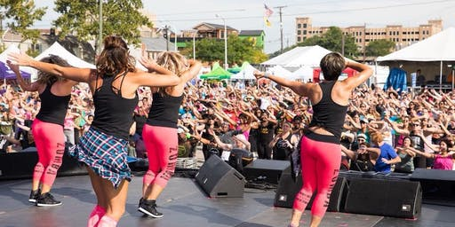 Priority Health Zumbathon® Charity Event at Arts, Beats and Eats 2019