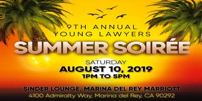 9th Annual Young Lawyers' Summer Soirée