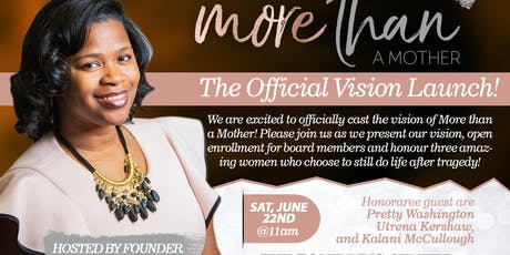 More Than A Mother's Official Vision Launch  tickets