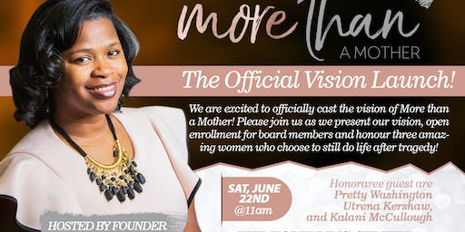 More Than A Mother's Official Vision Launch