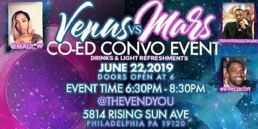 """VENUS VS MARS "" co Ed Convo & mingle"
