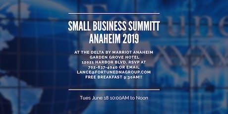Anaheim Small Business Summit-FREE BREAKFAST! tickets