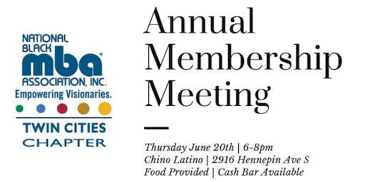 National Black MBA Twin Cities - Membership Meeting