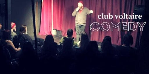 Sunday Night Stand-Up Comedy - Free Tickets Available - 18th August