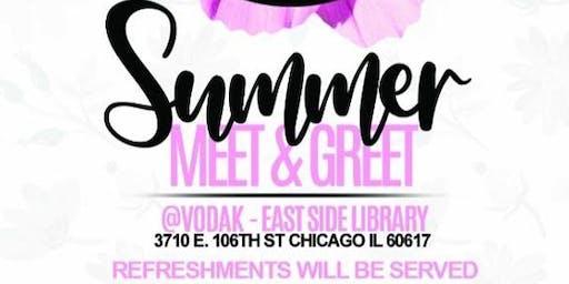 Lambda Gamma Rho Sorority  Inc. Summer Meet and Greet Informational