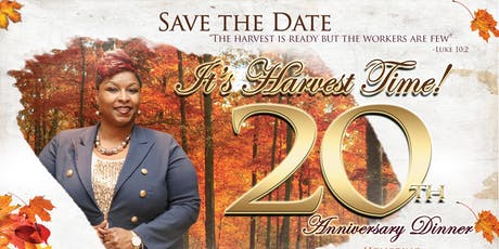 Apostle Carrie's 20th Anniversary Dinner tickets