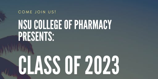 NSU College Of Pharmacy Class of 2023 Meet & Greet